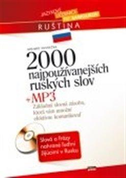 Obálka titulu 2000 najpoužívanejších ruských slov + MP3