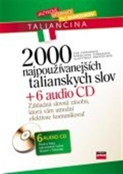 Obálka titulu 2000 najpoužívanejších talianskych slov + 6 AUDIO CD