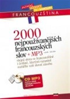 Obálka titulu 2000 nejpoužívanějších francouzských slov + CD MP3