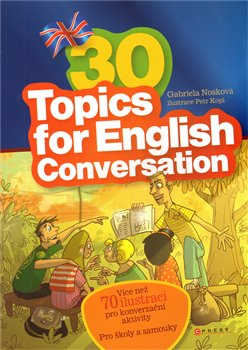 Obálka titulu 30 Topics for English Conversation