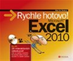 Obálka titulu Microsoft Excel 2010 rychle hotovo