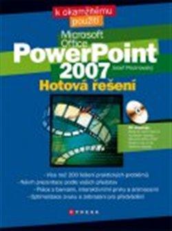 Obálka titulu Microsoft PowerPoint 2007