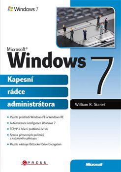 Obálka titulu Microsoft Windows 7