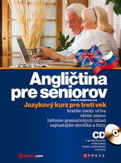 Obálka titulu Angličtina pre seniorov