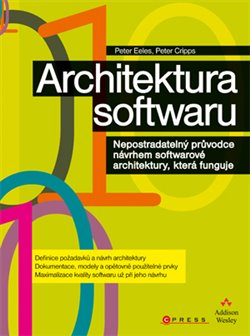 Obálka titulu Architektura softwaru