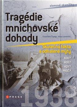 Obálka titulu Tragédie mnichovské dohody