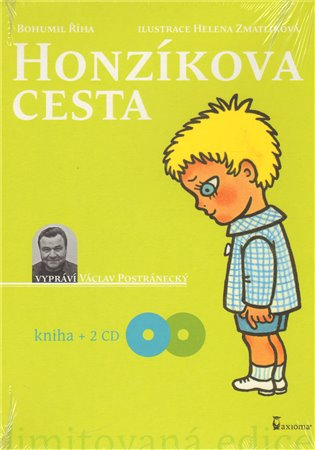 Honzíkova cesta - kniha + 2CD - Bohumil Říha | Booksquad.ink