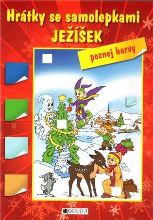 Ježíšek - poznej barvy:Hrátky se samolepkami - Pavel Baštýř   Booksquad.ink