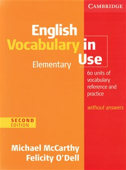 Obálka titulu English Vocabulary in Use Elementary Second edition without answers