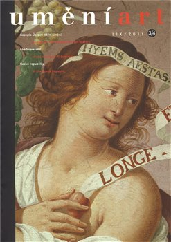 Obálka titulu Umění 3-4/2011