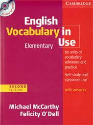 English Vocabulary in Use Elementary Second edition with answers and CD-ROM