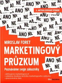 Obálka titulu Marketingový průzkum