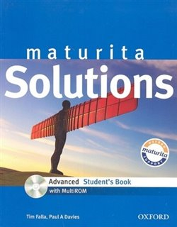 Obálka titulu Maturita Solutions Advanced Student's Book + CD-ROM