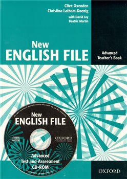 Obálka titulu New English file advanced Teachers Book + Tests resource CD-ROM