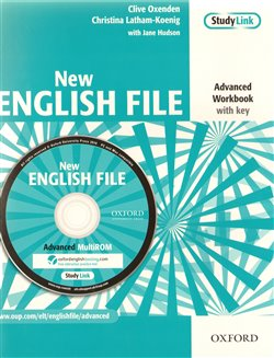 Obálka titulu New English File advanced workbook with key + MultiROM pack