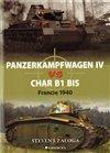 Obálka knihy Panzerkampfwagen IV vs Char B1 bis