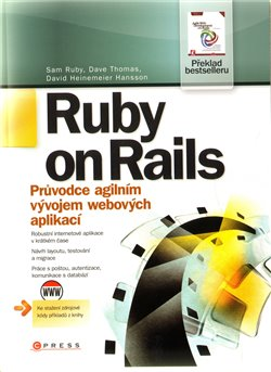 Obálka titulu Ruby on Rails