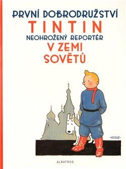 Obálka titulu Tintin  v zemi Sovětů