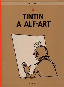 Obálka titulu Tintin 24 - Tintin a alf-art