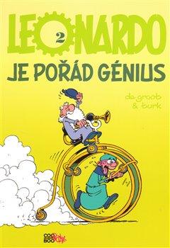 Obálka titulu Leonardo je pořád génius