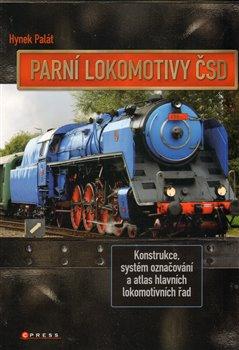 Obálka titulu Parní lokomotivy ČSD
