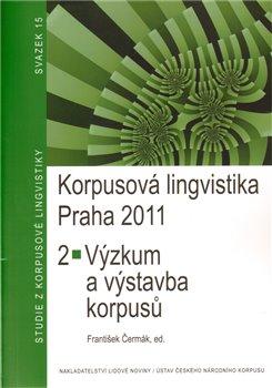 Obálka titulu Korpusová lingvistika Praha 2011. 2
