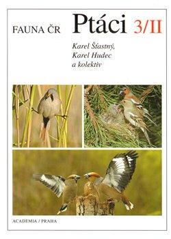 Obálka titulu Fauna ČR Ptáci 3/II. (2 svazky)