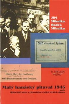 Obálka titulu Malý hanácký pitaval 1945 aneb Hříšní lidé města vyškovského a jejich strážci zákona