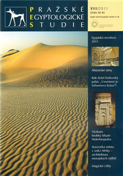 Obálka titulu Pražské egyptologické  studie  VIII/2011