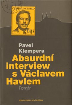 Obálka titulu Absurdní interview s Václavem Havlem