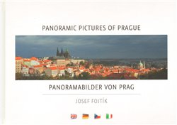 Obálka titulu Panoramic pictures of Prague / Panoramabilder von Prag