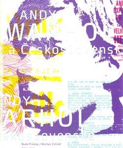 Obálka titulu Andy Warhol a Československo