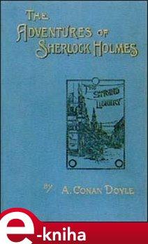 Obálka titulu The Adventures of Sherlock Holmes