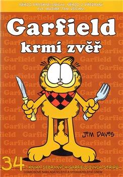 Obálka titulu Garfield krmí zvěř