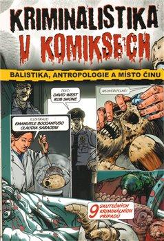 Obálka titulu Kriminalistika v komiksech