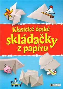 Obálka titulu Klasické české skládačky z papíru