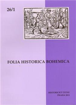 Obálka titulu Folia Historica Bohemica 26/1