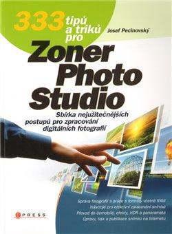 Obálka titulu 333 tipů a triků pro Zoner  Photo Studio
