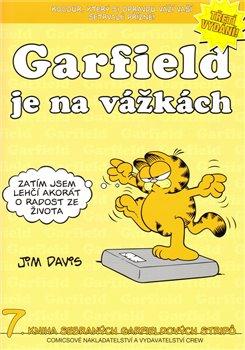 Obálka titulu Garfield je na vážkách