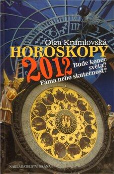 Obálka titulu Horoskopy 2012