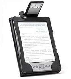 Obálka titulu Pouzdro pro Kindle 4 s integrovanou LED lampičkou