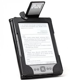Pouzdro pro Kindle 4 s integrovanou LED lampičkou
