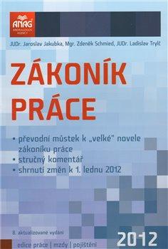 Obálka titulu Zákoník práce 2012