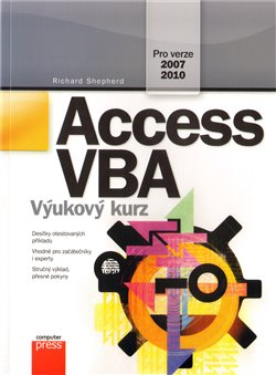Obálka titulu Access VBA