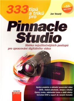 Obálka titulu 333 tipů a triků  pro Pinnacle Studio