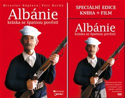 Obálka titulu Albánie - Kráska se špatnou pověstí + DVD