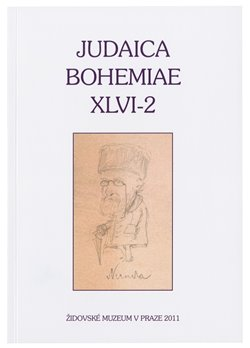 Judaica Bohemiae 46/2011