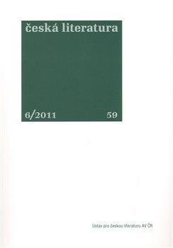 Obálka titulu Česká literatura 6/2011