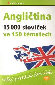 Obálka titulu Angličtina – 15 000 slovíček ve 150 tématech