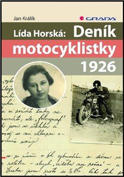 Obálka titulu Lída Horská: Deník motocyklistky 1926